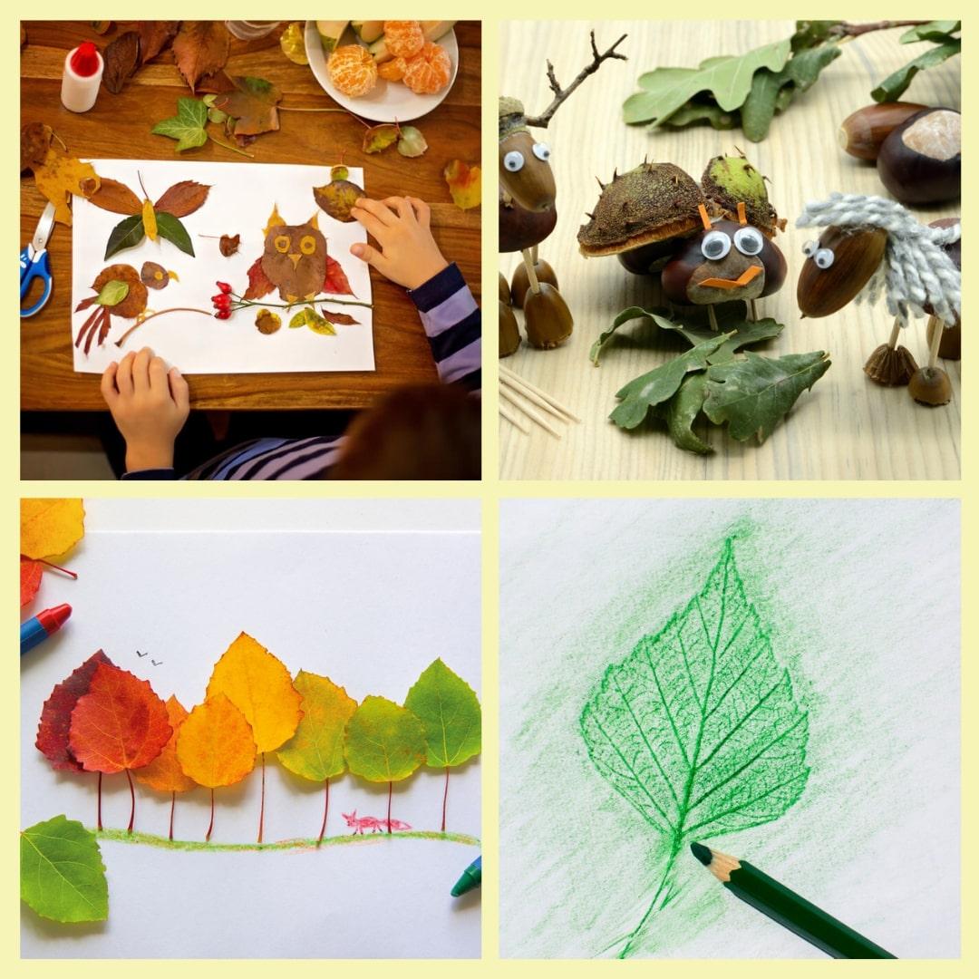 Collage-basteln-Herbst